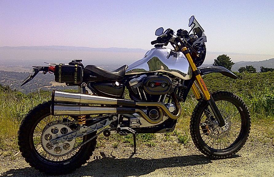 Harley Davidson Sportster Dual Sport Conversion