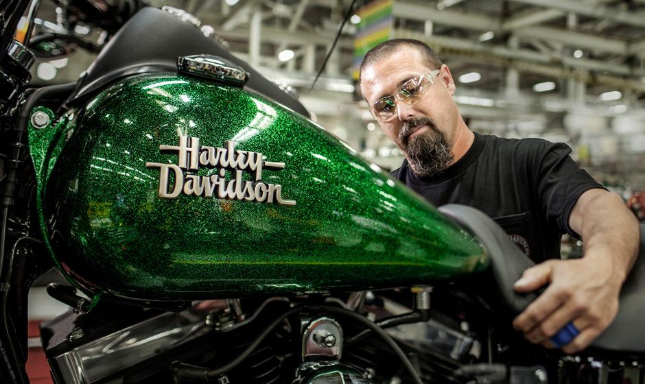 Harley davidson street bob gets h d1 customization for 2013 autoevolution