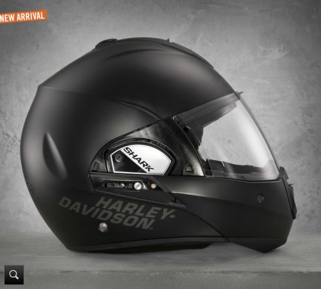 Harley Surfaces Fxrg Dual Homologation Helmet Based On Shark Evoline Autoevolution