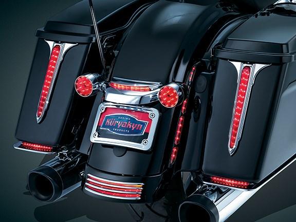 Harley Davidson Tourers Receive New Kuryakyn Led Accents