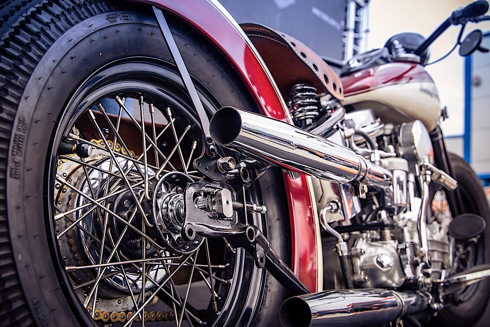 Harley-Davidson Uncle Pan Is the German Take on the American Panhead