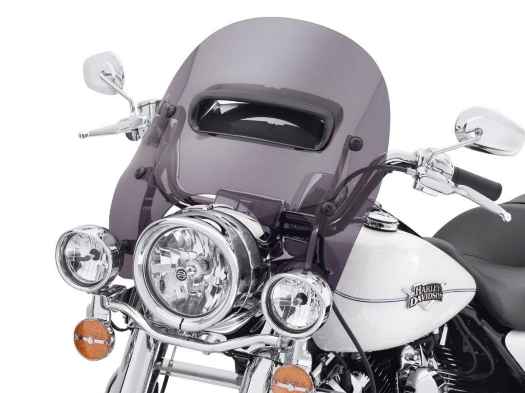 Harley-Davidson Wind Splitter Windshield Looks A Bit ...