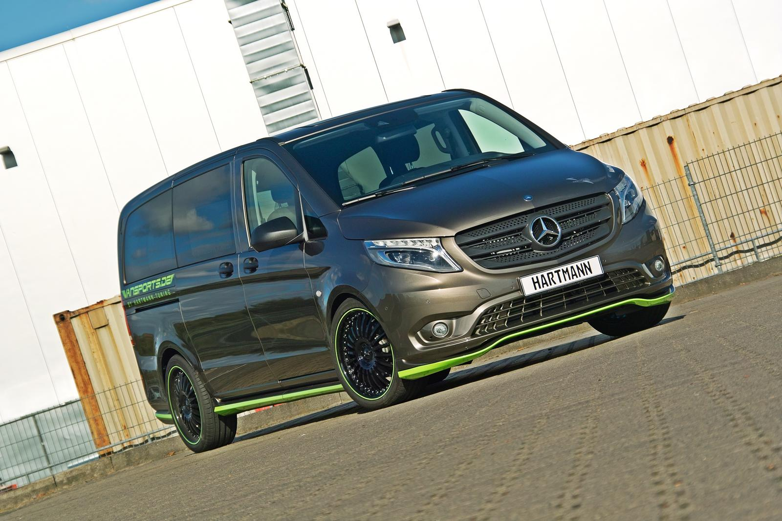 Hartmann Mercedes-Benz V-Class Will Scare Your Kids - autoevolution