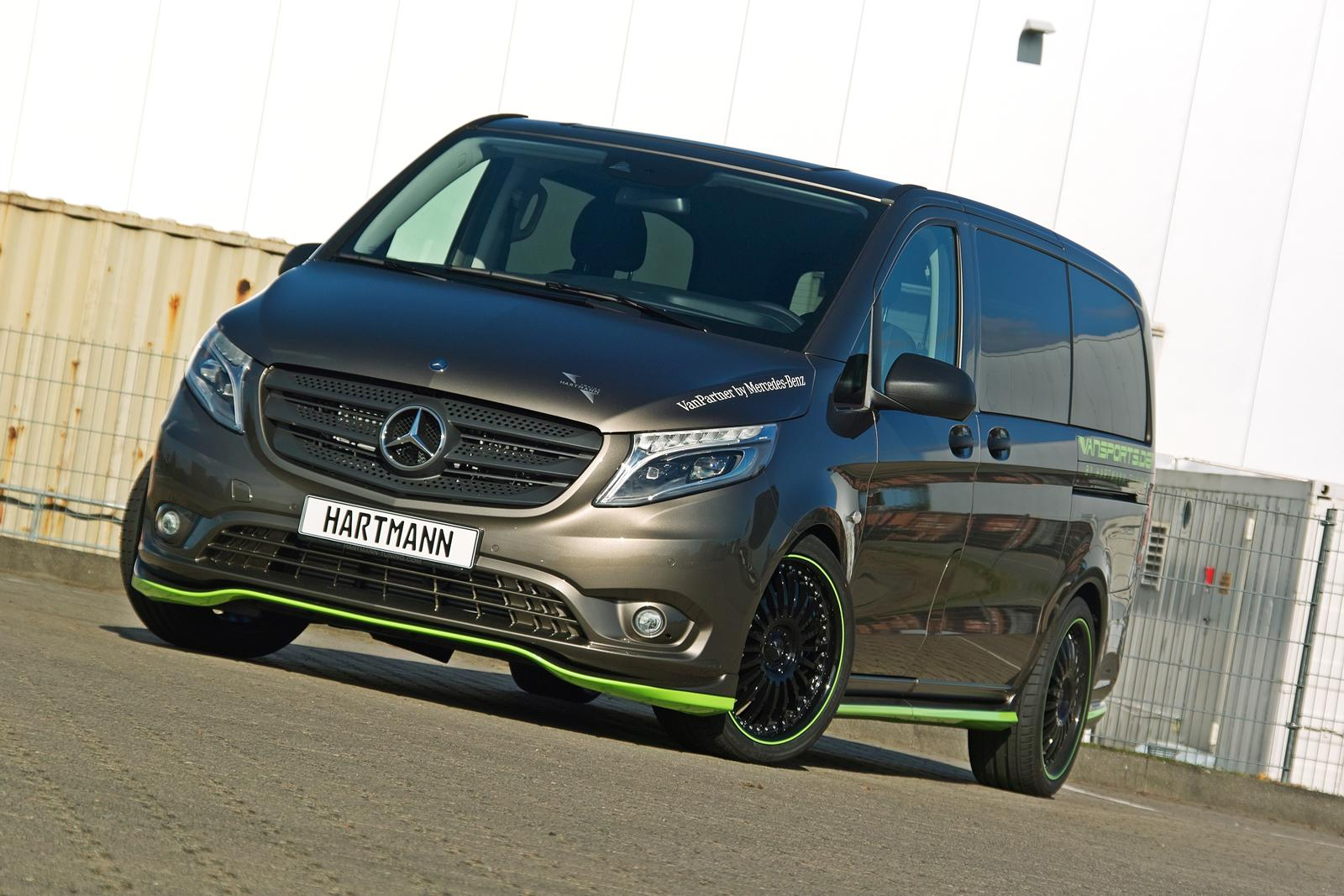 hartmann mercedes benz v class will scare your kids. Black Bedroom Furniture Sets. Home Design Ideas