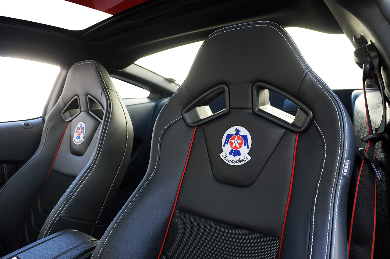 Have a Closer Look at the 2014 Ford Mustang USAF ...
