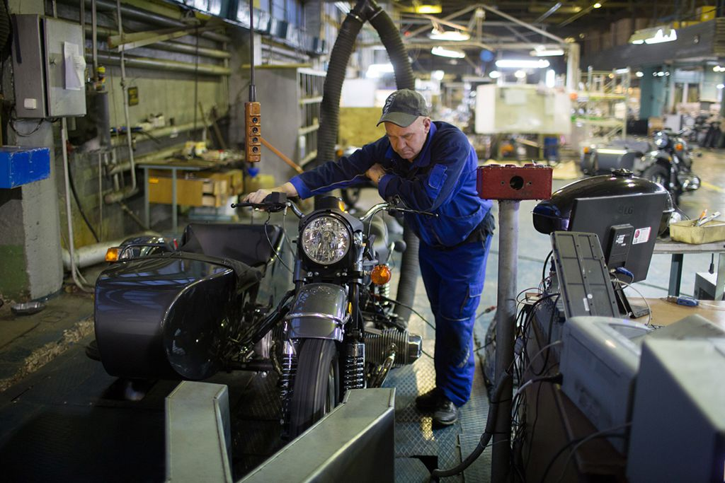 Have A Look Inside The Ural Factory In The Ural Mountains