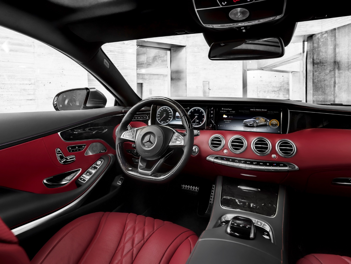 Mercedes Benz S Class Coupe C217 Interior