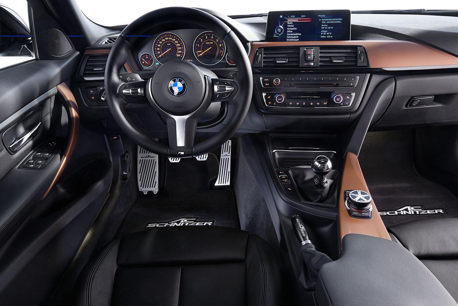 Coming to geneva ac schnitzer bmw 3 series touring m for Interieur sport