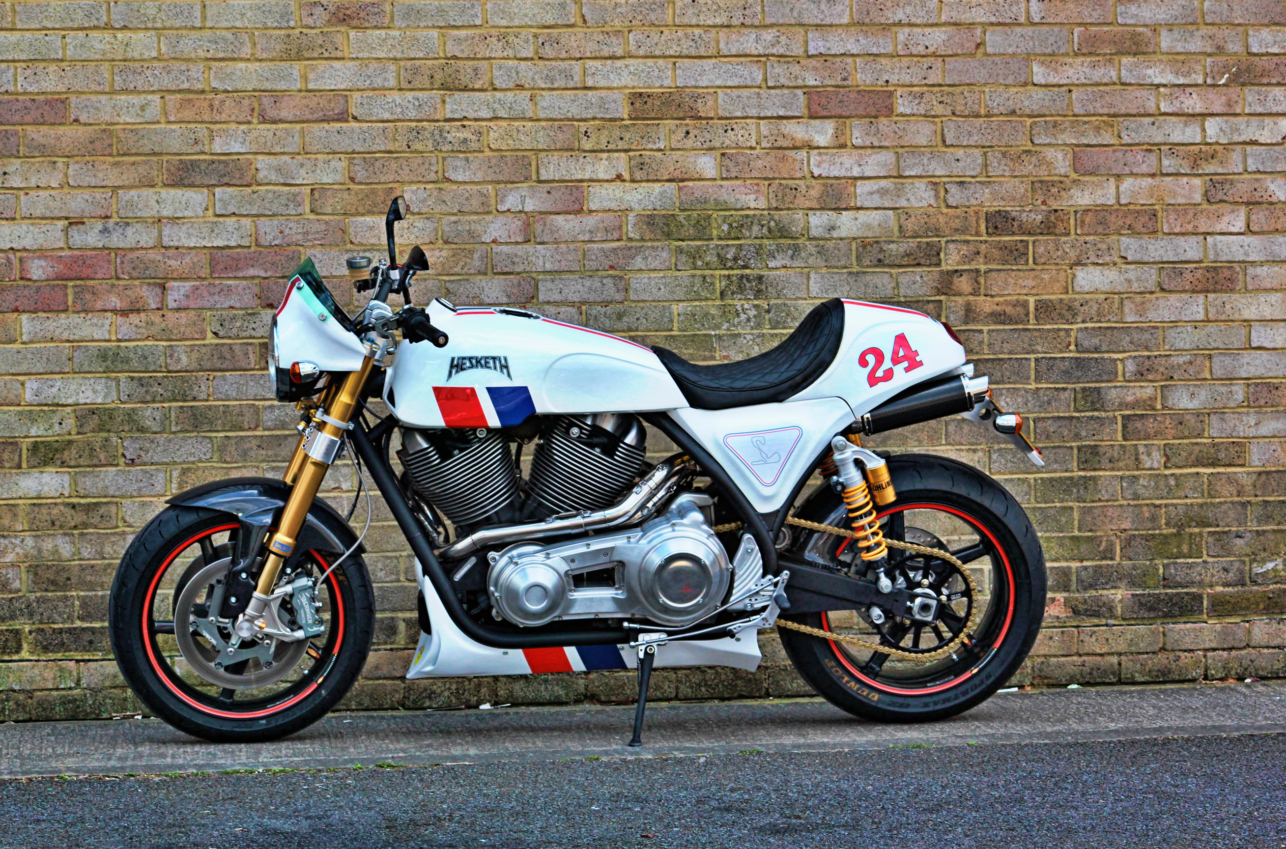Hear The Amazing Grunt Of The Hesketh V Twin Engine Videophoto Gallery