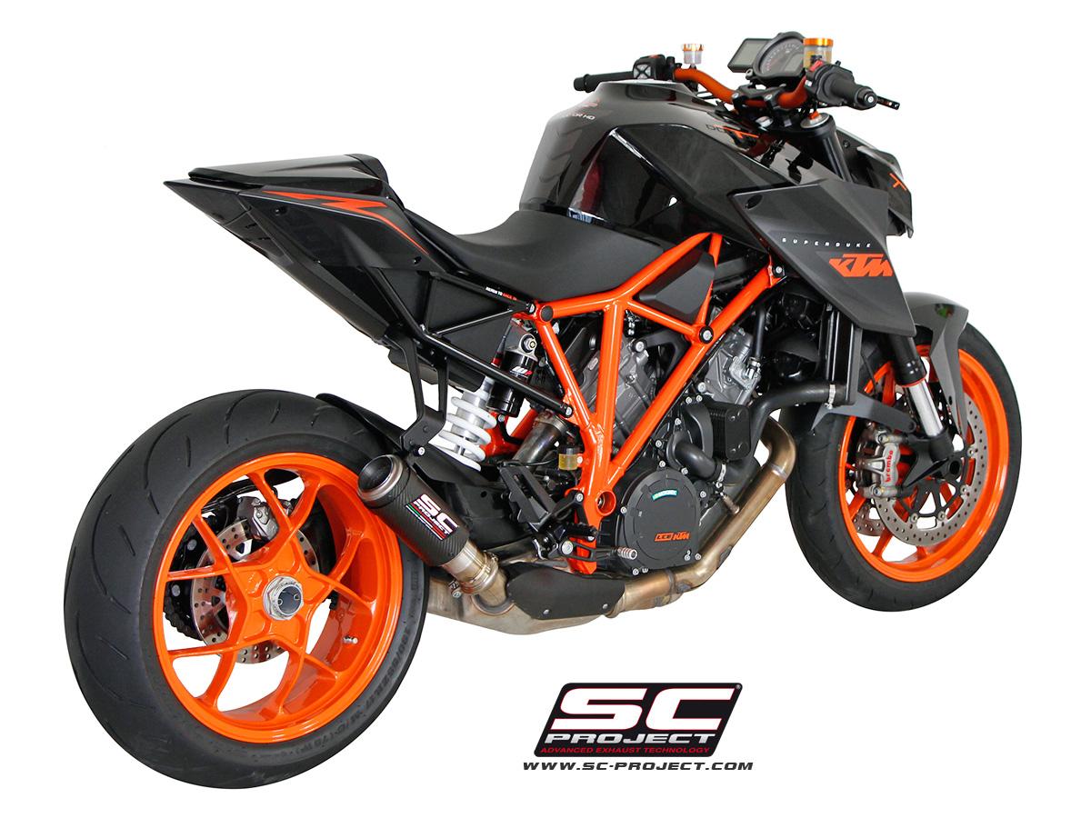 Ktm 1290 Super Duke R >> Hear the KTM 1290 Super Duke R with an SC-Project Titanium Exhaust - autoevolution