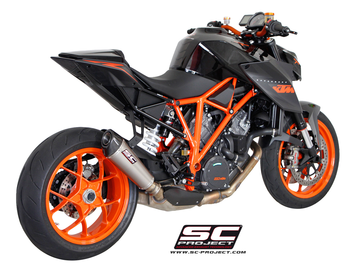 hear the ktm 1290 super duke r with an sc project titanium. Black Bedroom Furniture Sets. Home Design Ideas
