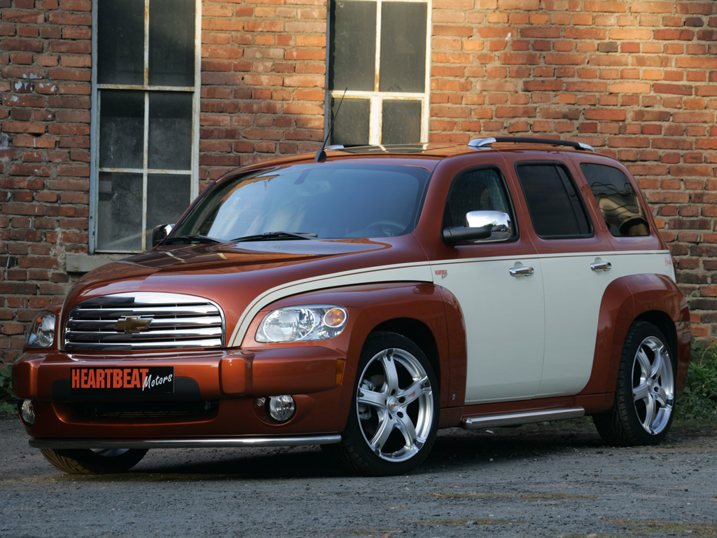 Heartbeat Motors Chevrolet Hhr Capone Unveiled Autoevolution