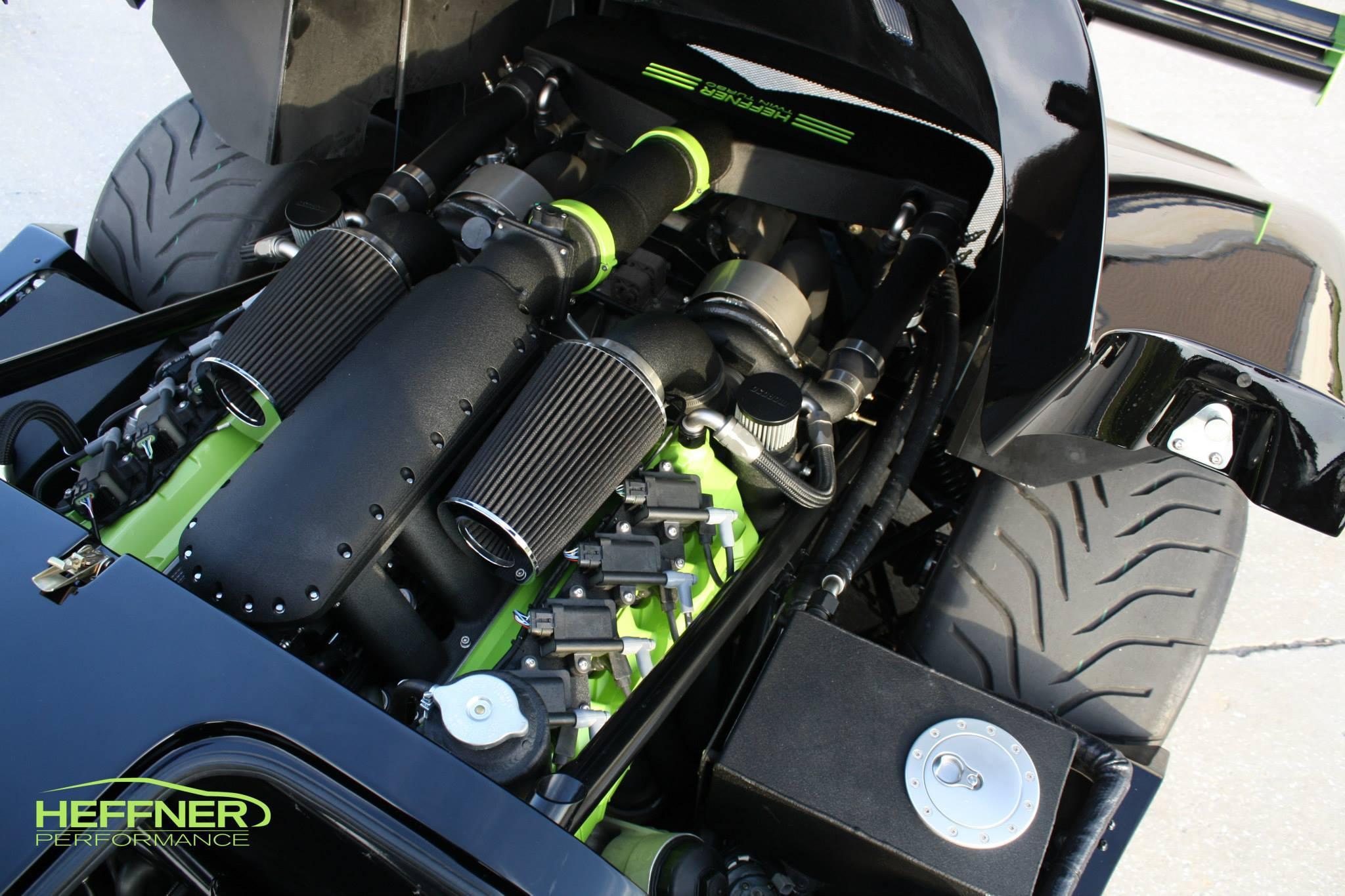 1000 Hp Honda Odyssey >> Heffner Performance Twin Turbo Ultima GTR Has 1000 RWHP - autoevolution