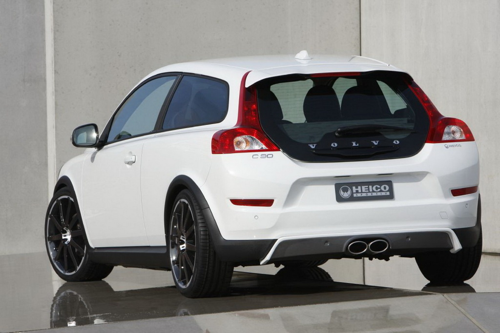 heico gently touches the volvo c30 autoevolution. Black Bedroom Furniture Sets. Home Design Ideas