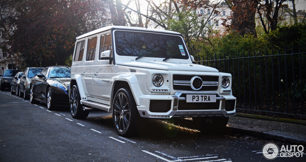 Heiress Petra Ecclestone Owns An All White Brabus G Wagon