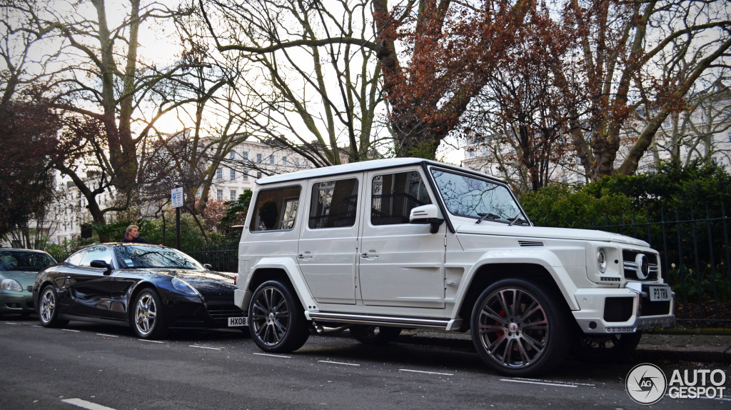 Heiress Petra Ecclestone Owns an All-White Brabus G-Wagon ...