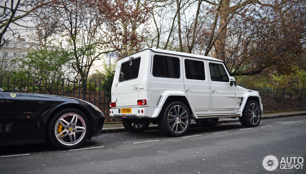 Heiress petra ecclestone owns an all white brabus g wagon for How much is a mercedes benz g63
