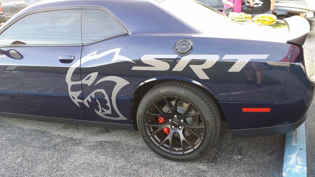 2015 Dodge Challenger Hellcat For Sale >> Hellcat Decals for the Dodge Challenger Spark a Debate ...