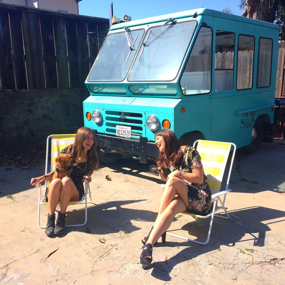 Help These Cute Girls Fix Their Jeep Postal Van To Deliver Tea With It Video on Kaiser Jeep