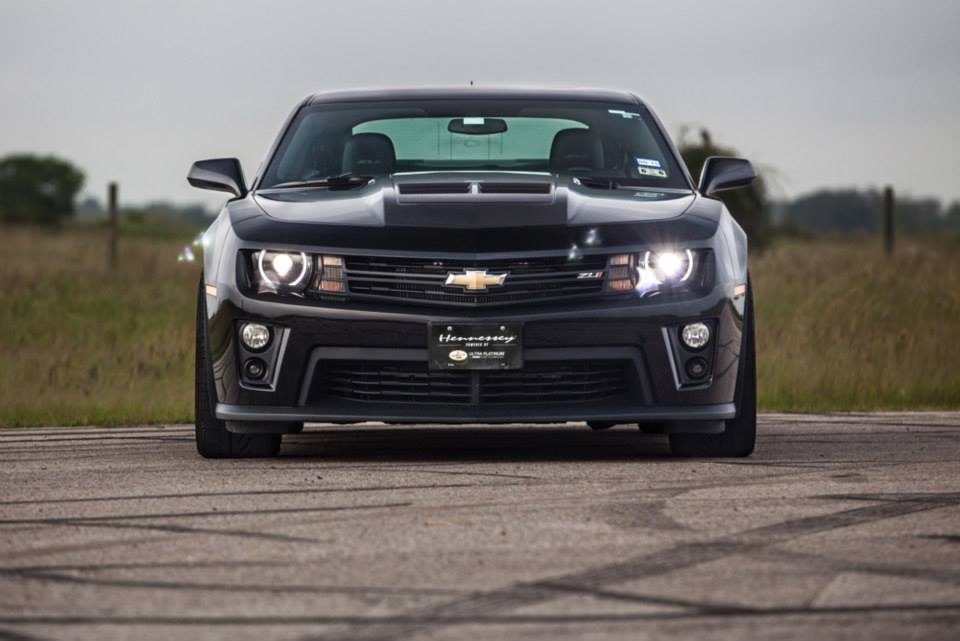 Hennessey Camaro ZL1 Supercharged to 750 HP - autoevolution