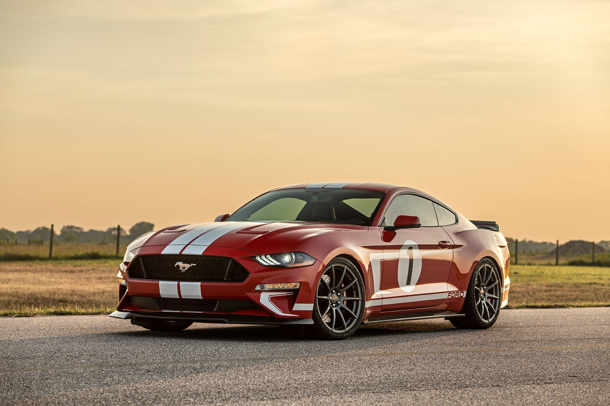 Hennessey Celebrates 10,000th Vehicle Built With The Heritage Edition Mustang - autoevolution