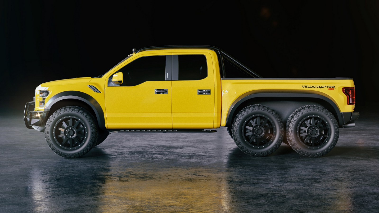 Hennessey F-150 VelociRaptor 6x6 Worth Nearly $300,000 ...