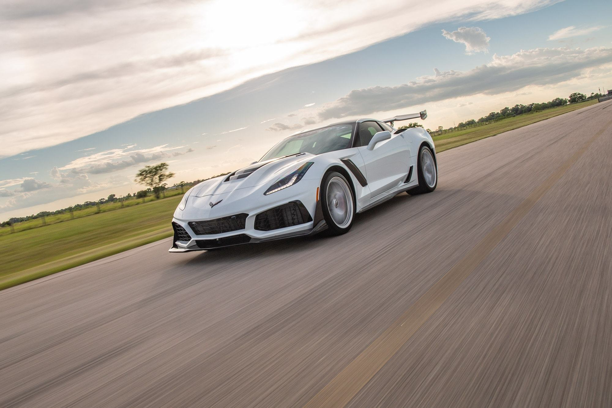hennessey hpe1200 package takes the corvette zr1 to 1 200