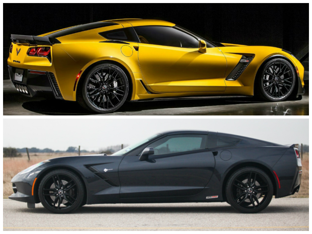 hennessey hpe650 supercharged c7 corvette vs 2015 corvette z06 1984 corvette wiring diagram hennessey hpe650 supercharged c7 corvette vs 2015 chevrolet corvette z06