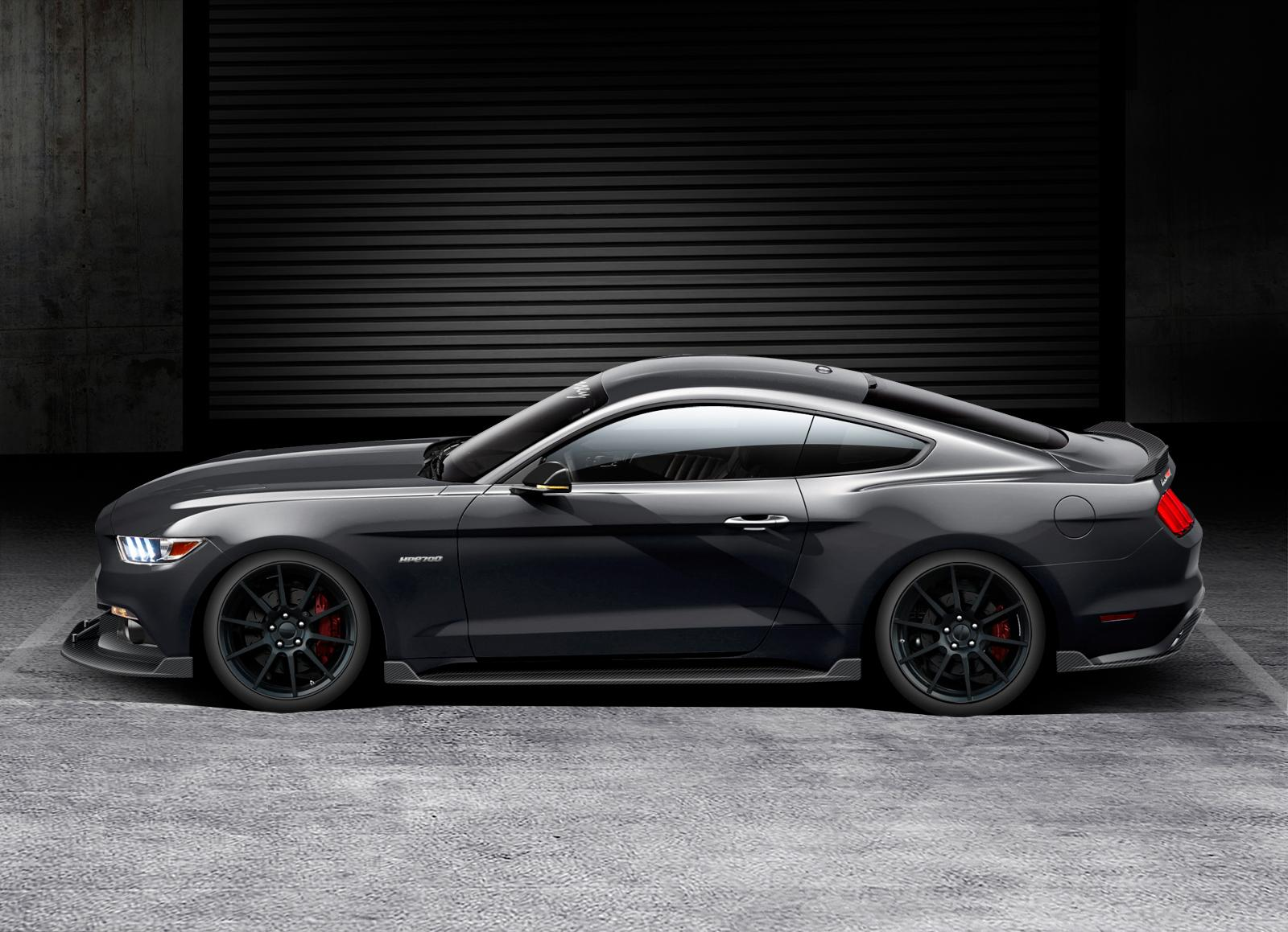 hennessey hpe700 supercharged mustang hikes the 2015 model year 39 s output to 717 hp autoevolution. Black Bedroom Furniture Sets. Home Design Ideas