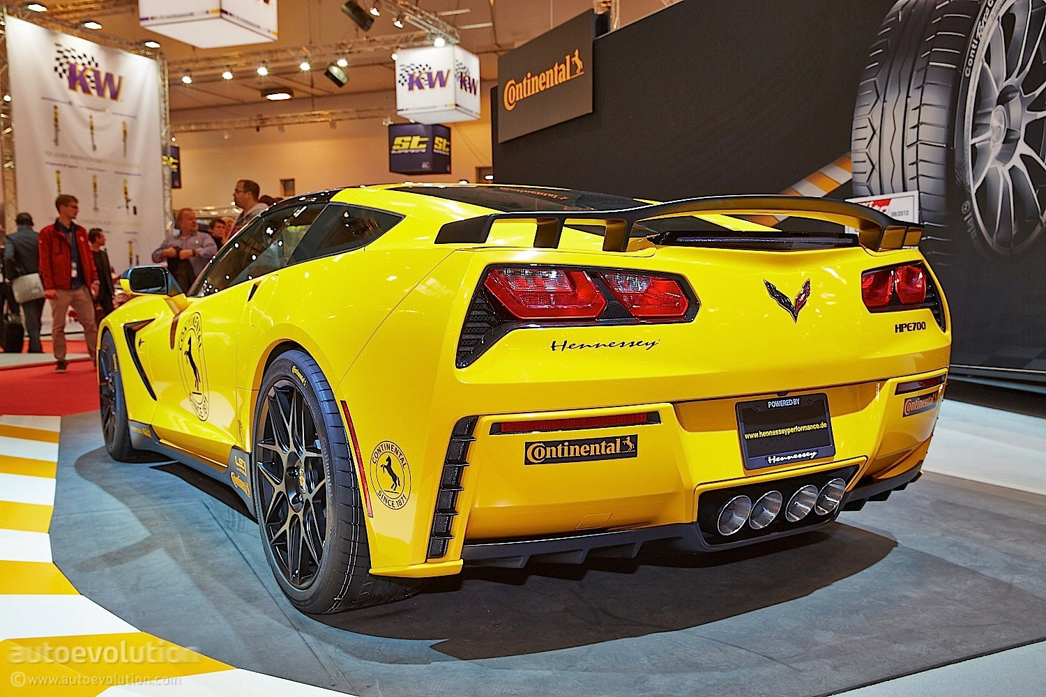 hennessey germany shows up with 700 hp corvette at essen. Black Bedroom Furniture Sets. Home Design Ideas