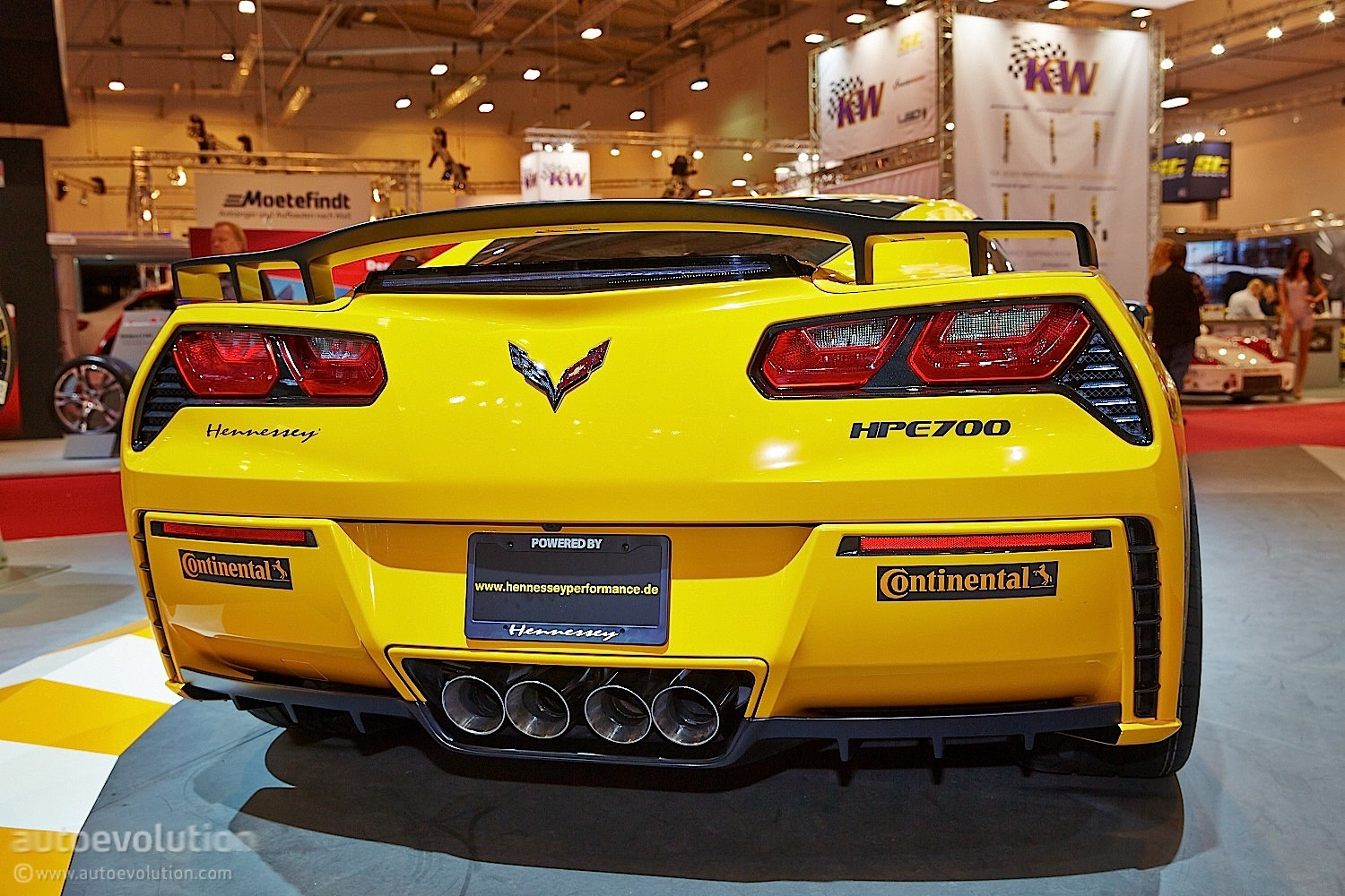 hennessey germany shows up with 700 hp corvette at essen live photos autoevolution. Black Bedroom Furniture Sets. Home Design Ideas