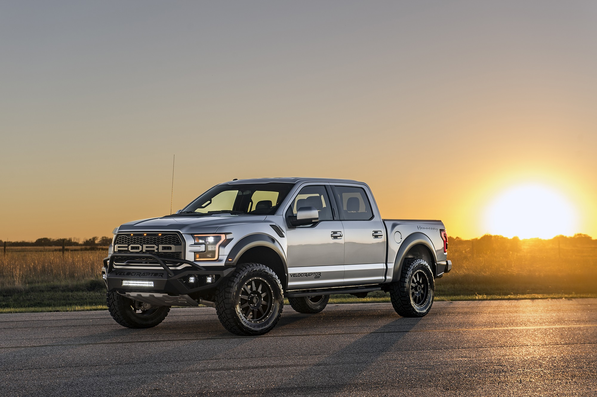 Hennessey Performance Tunes The 2020 Ford F-150 Raptor To ...