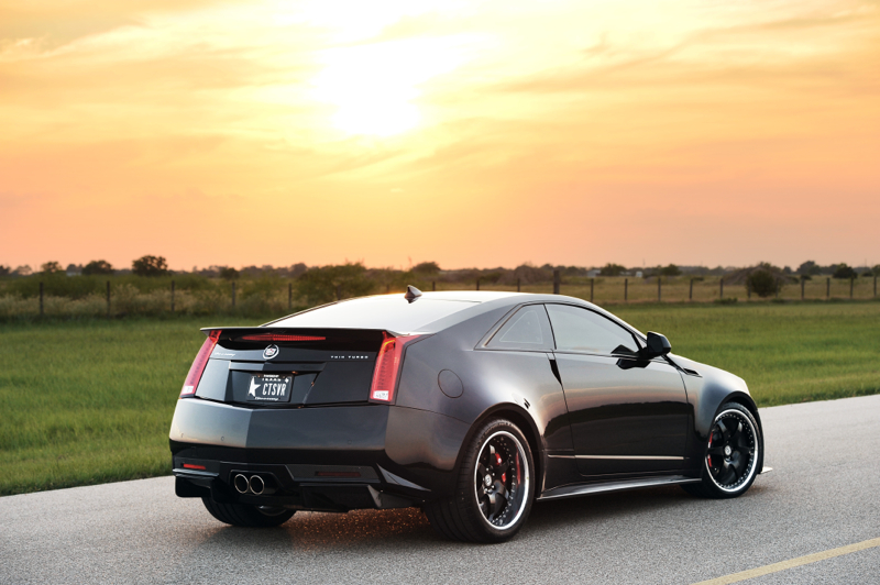 Hennessey Turns CTS-V into 1,200 HP Twin-Turbo Monster [Video ...