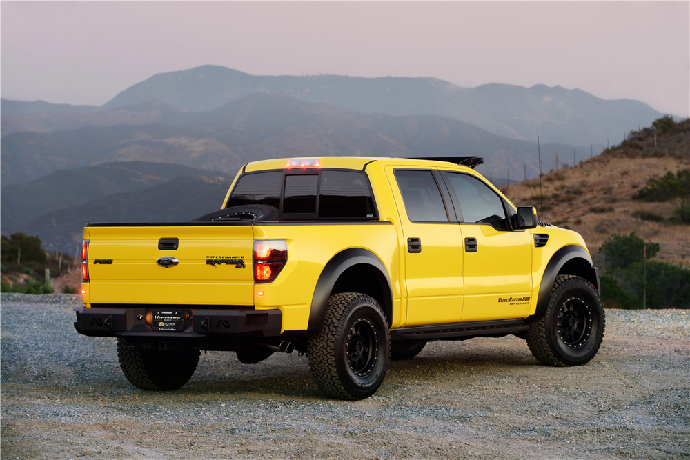 Ford Escape 2014 Custom >> Hennessey VelociRaptor Driven by Jeremy Clarkson to Cross the Auction Block - autoevolution