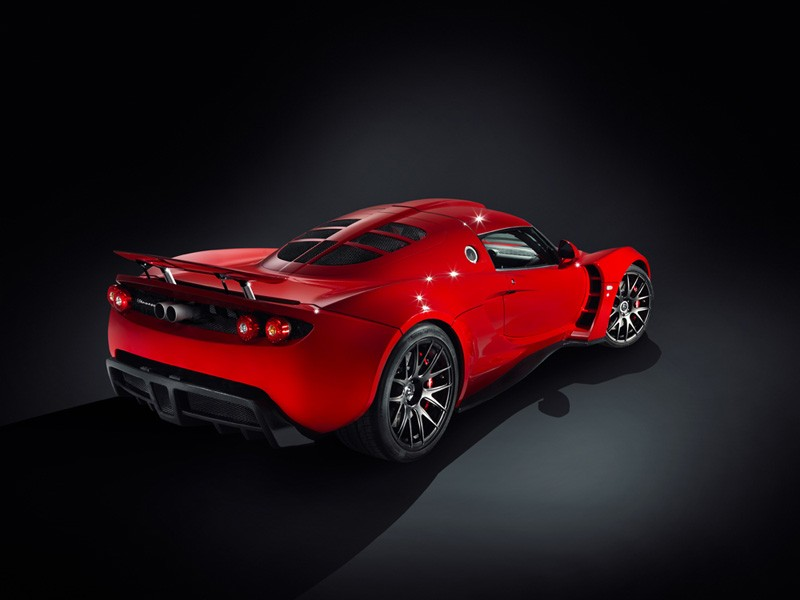 Hennessey Venom Gt Dresses Up In Red Autoevolution