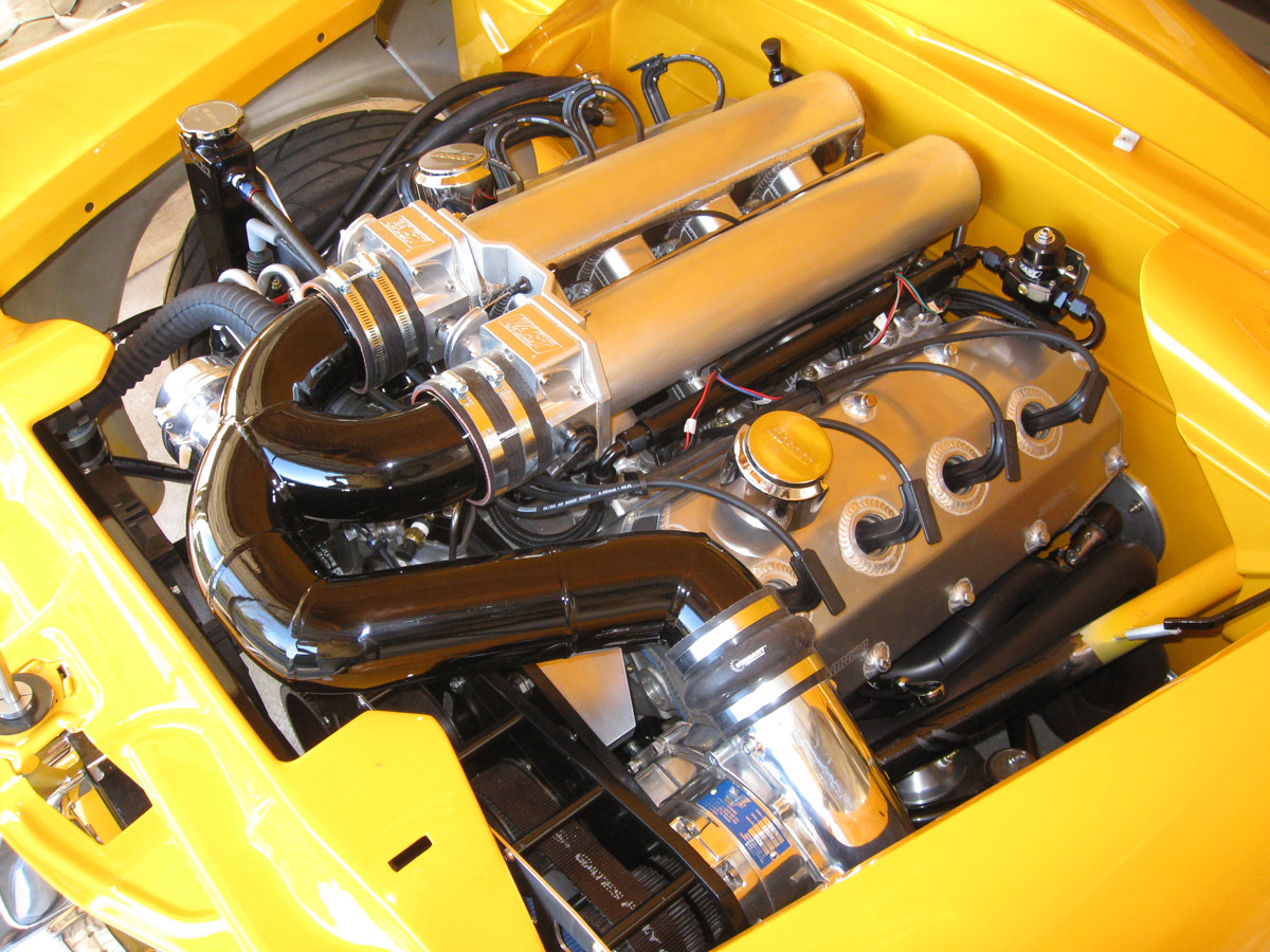 Henry J Gains Hemi V8 And Vortech Supercharger Autoevolution