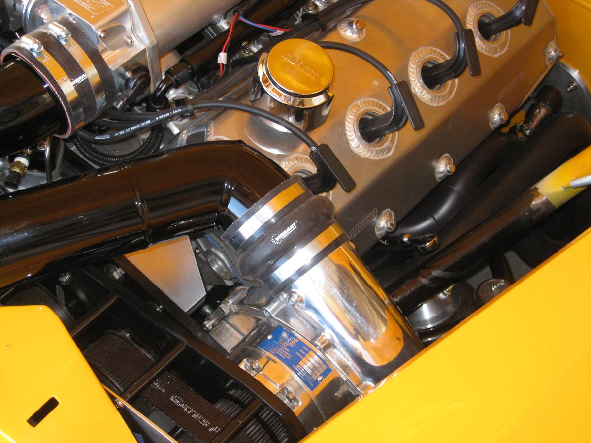 Henry J Gains Hemi V8 and Vortech Supercharger - autoevolution