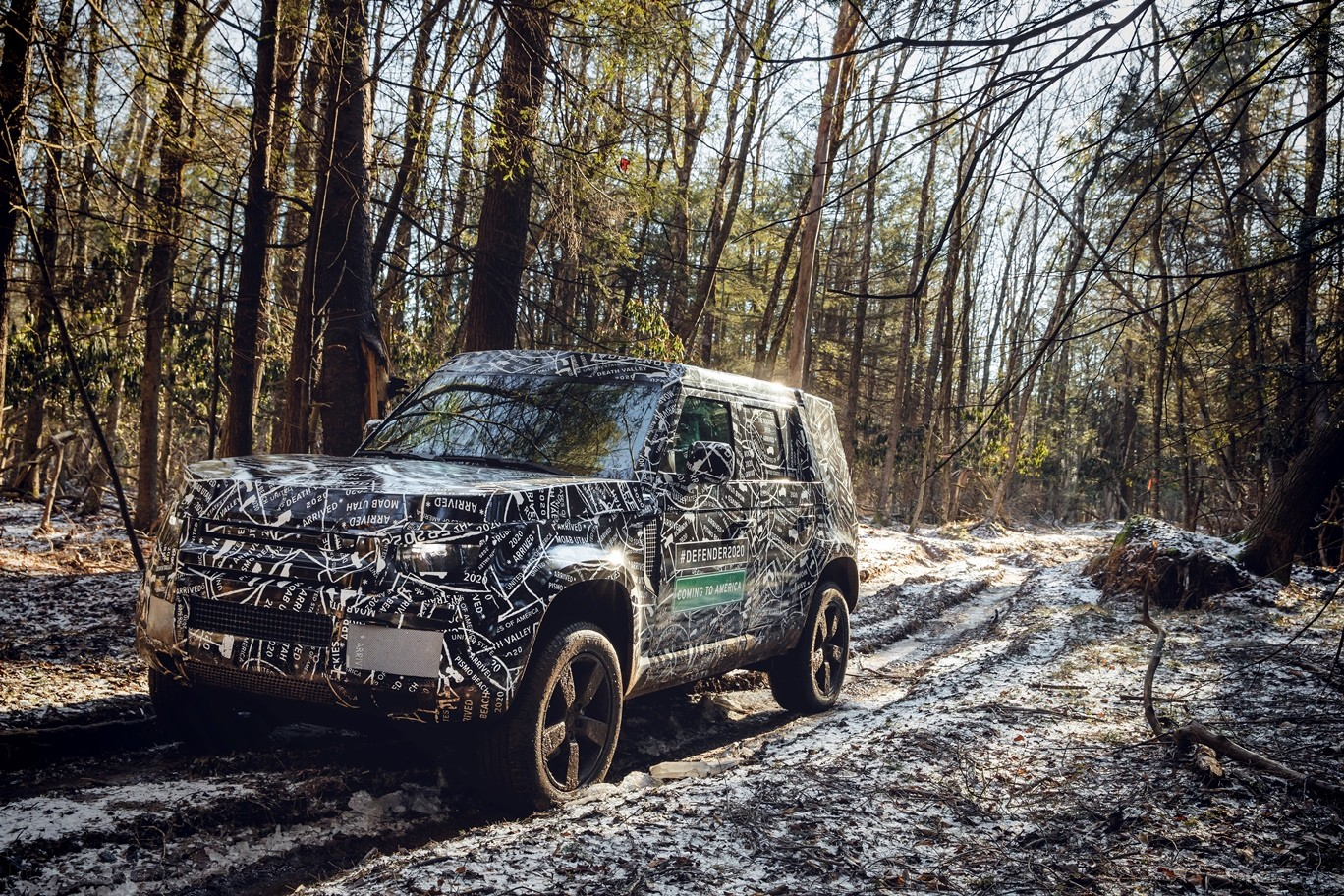 New Discovery Sport 2019 >> Here Are Official Spy Photos Of the U.S.-bound 2020 Land Rover Defender - autoevolution