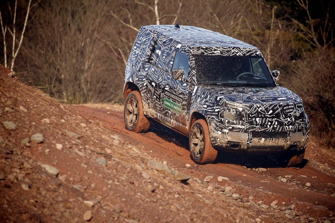Landrover Defender 2018 >> Here Are Official Spy Photos Of the U.S.-bound 2020 Land Rover Defender - autoevolution