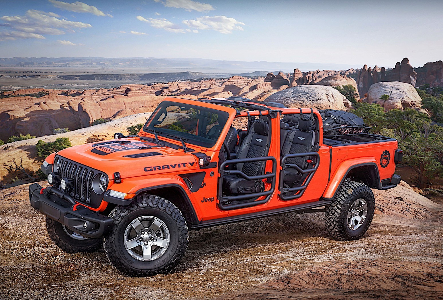 Here Are the Insane Jeep Gladiator Concepts for the 2019 ... Jeep Wrangler Rubicon 4 Door Lifted