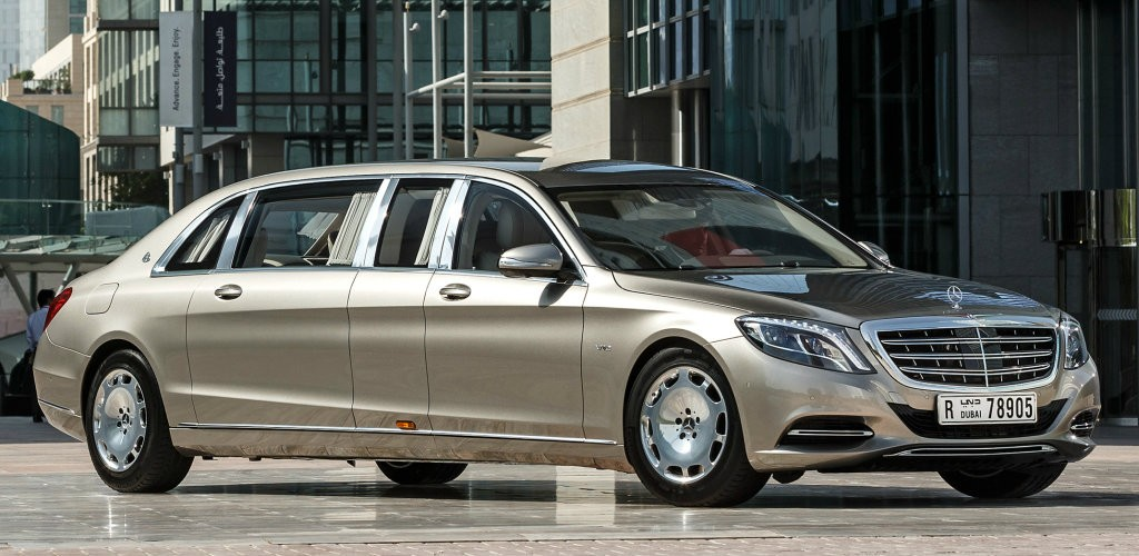 Nice ... Mercedes Maybach S 600 Pullman ...