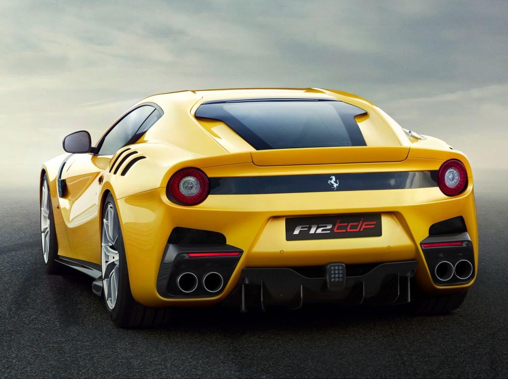 ... 2016 Ferrari F12tdf ...