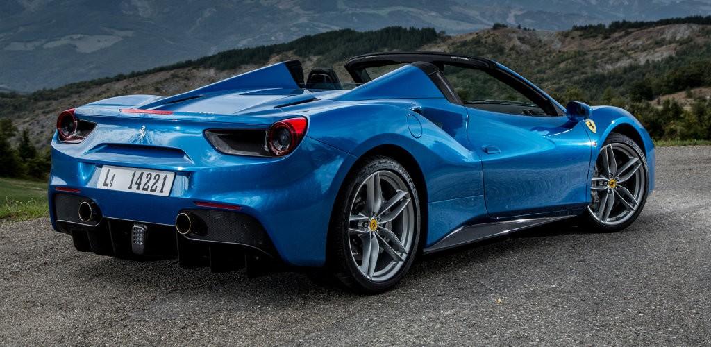 ... 2016 Ferrari 488 Spider ...