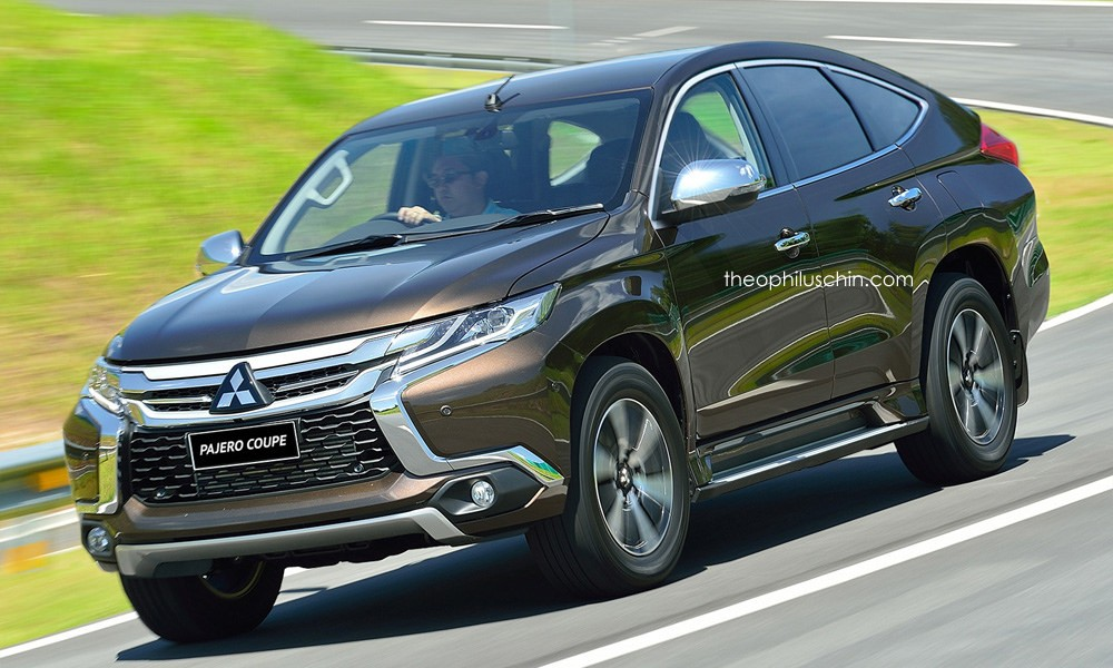 Here's a Fugly Mitsubishi Pajero Coupe, Based on the ...
