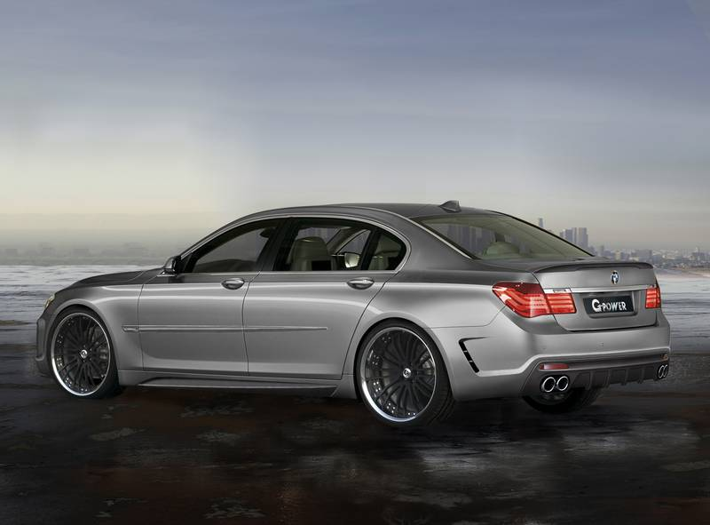 Here S A New Supercar From G Power The Bmw 760i Storm