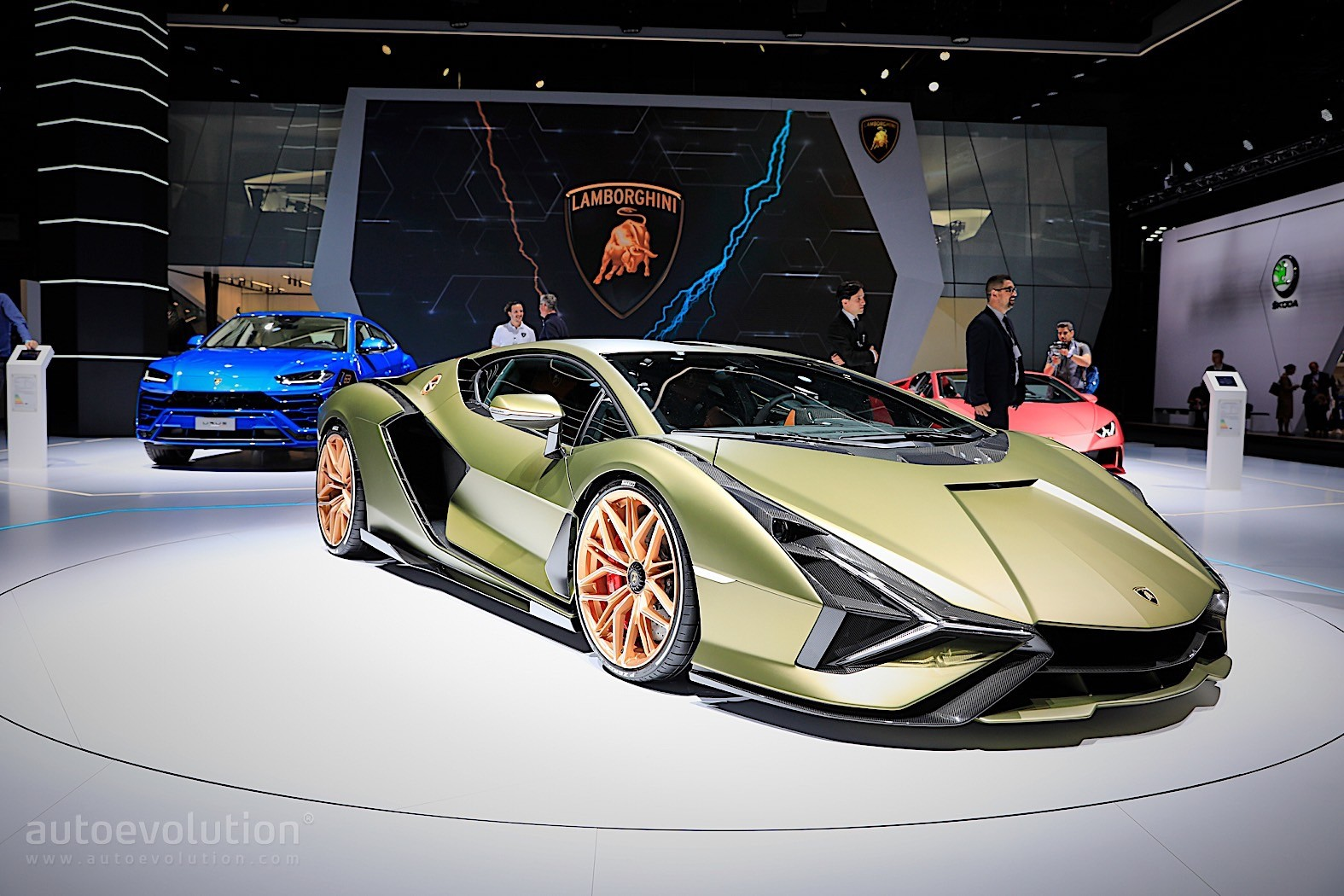 Here S The Sian The Most Powerful Lamborghini Ever Live