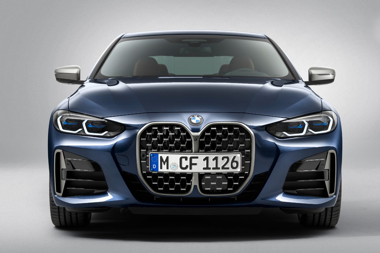 Here's the 2021 BMW 4 Series Coupe Without the Huge Grille ...
