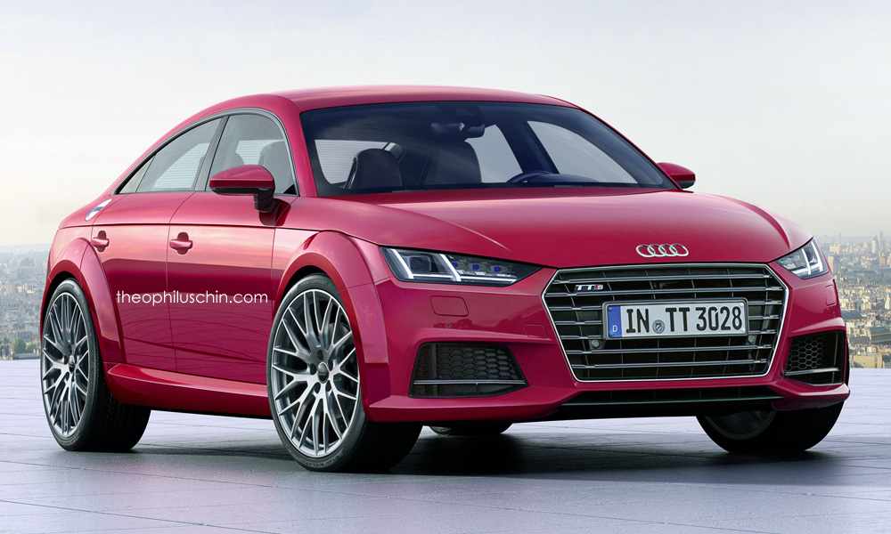 here 39 s what the 2017 audi tt sportback might look like in. Black Bedroom Furniture Sets. Home Design Ideas