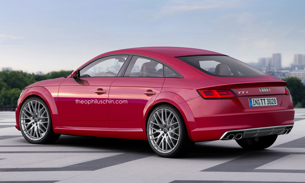 here's what the 2017 audi tt sportback might look like in