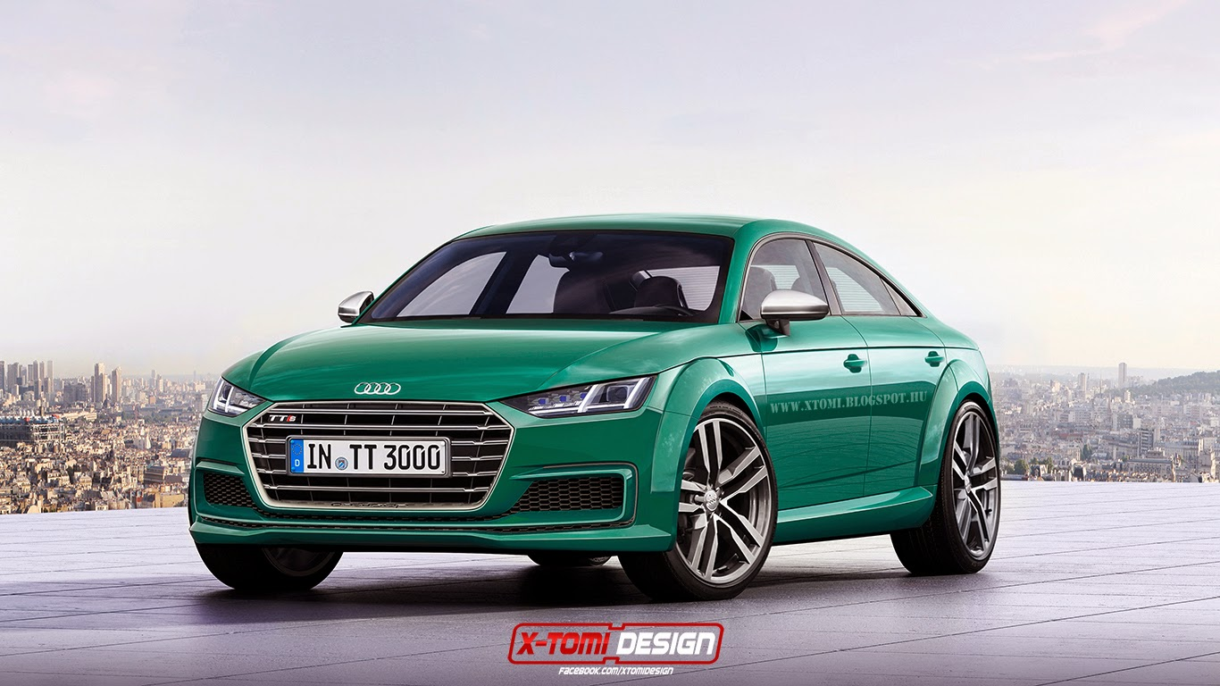 Here's What the 2017 Audi TT Sportback Might Look Like in Production ...